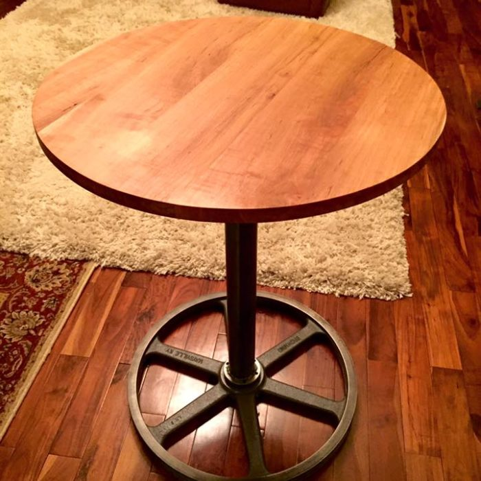 A few round accent tables