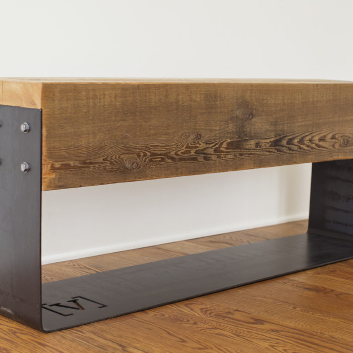 The Cedar Beam Bench